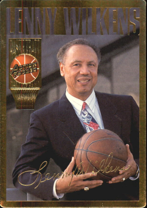 1995 Action Packed Hall of Fame #18 Lenny Wilkens