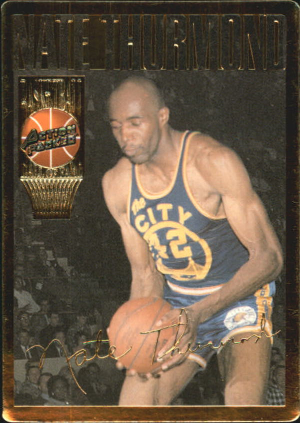 1995 Action Packed Hall of Fame #21 Nate Thurmond