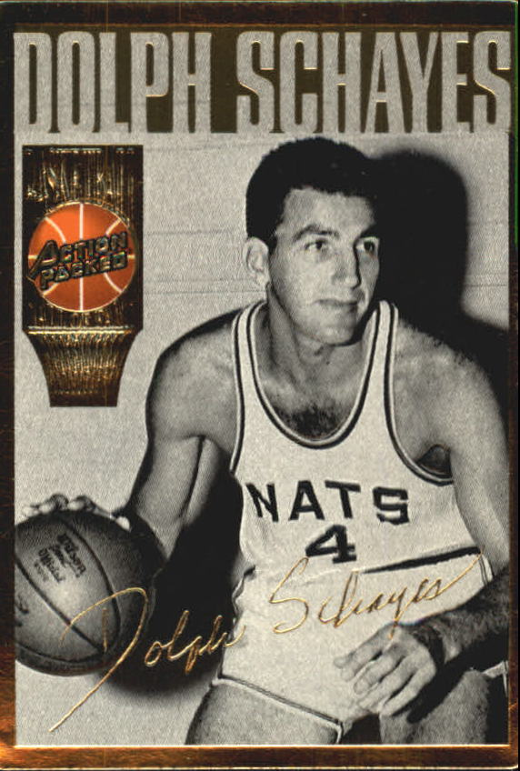 1995 Action Packed Hall of Fame #22 Dolph Schayes