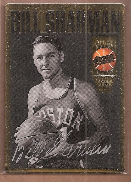 1995 Action Packed Hall of Fame Autographs #23 Bill Sharman