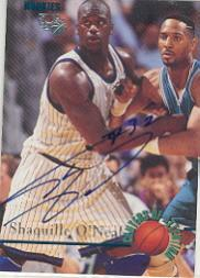 1995 Classic Autographs #105 Shaquille O'Neal/400
