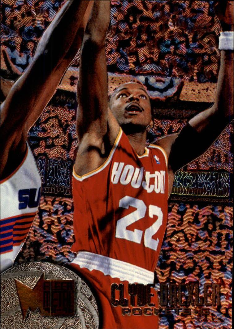 1995-96 Metal #38 Clyde Drexler