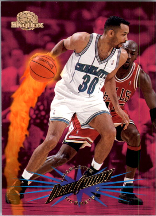 1995-96 SkyBox Premium #12 Dell Curry