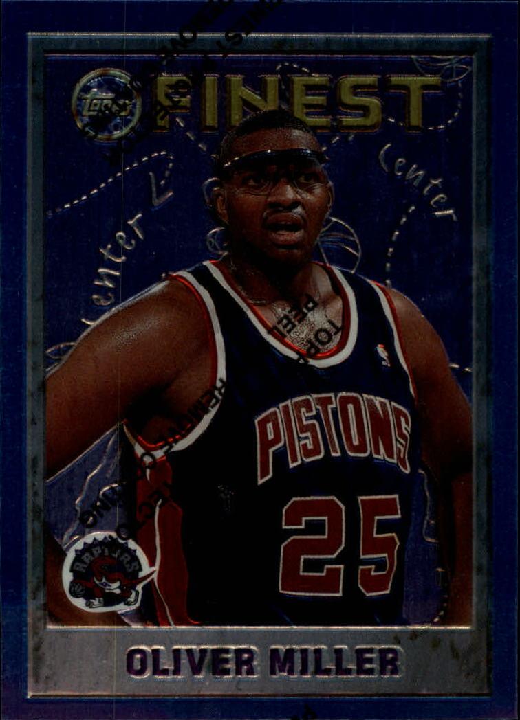 1995-96 Finest #43 Oliver Miller