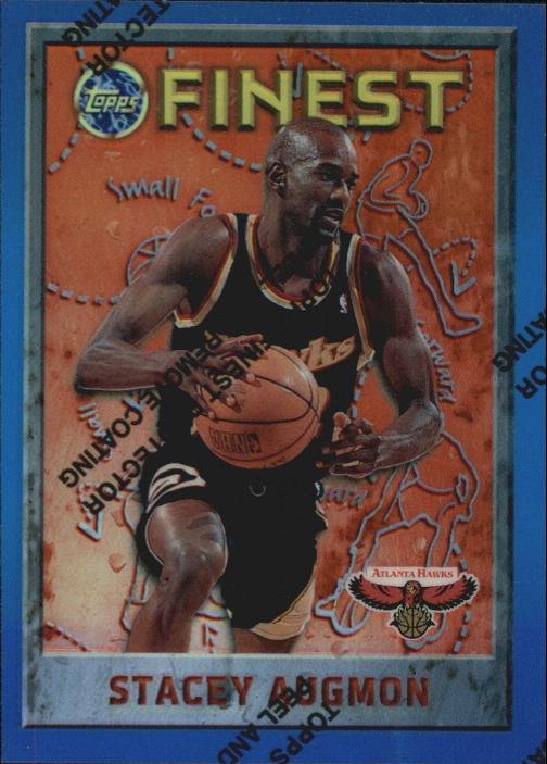 1995-96 Finest Refractors #2 Stacey Augmon