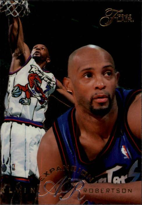 1995-96 Flair #195 Alvin Robertson EXP
