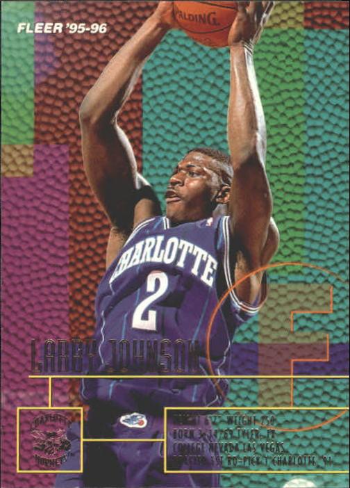 1995-96 Fleer #18 Larry Johnson