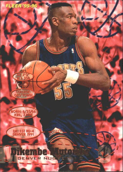 1995-96 Fleer #44 Dikembe Mutombo