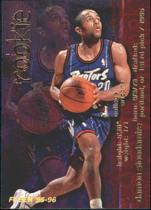 1995-96 Fleer #311 Damon Stoudamire RC
