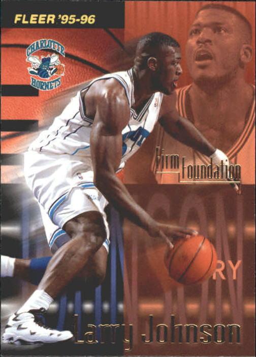 1995-96 Fleer #322 Larry Johnson FF