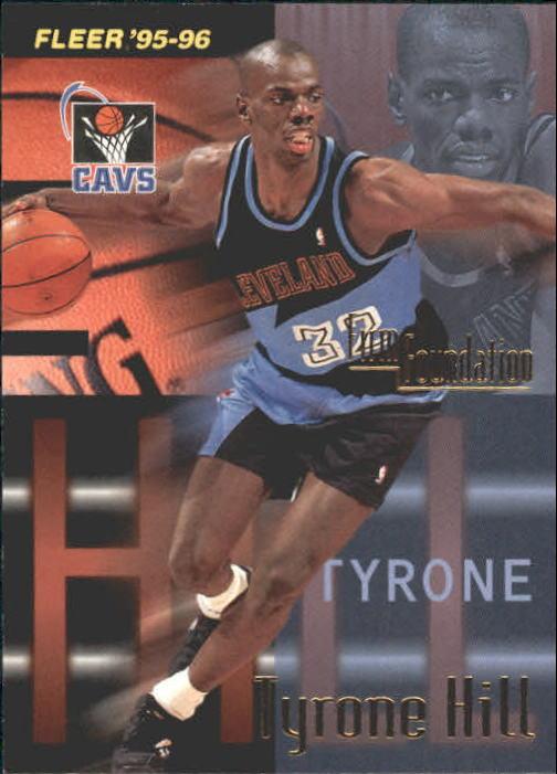 1995-96 Fleer #324 Tyrone Hill FF