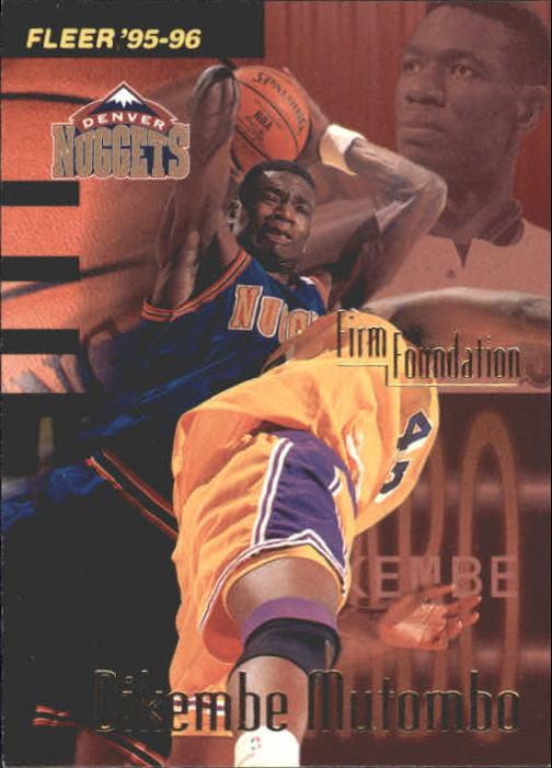 1995-96 Fleer #326 Dikembe Mutombo FF