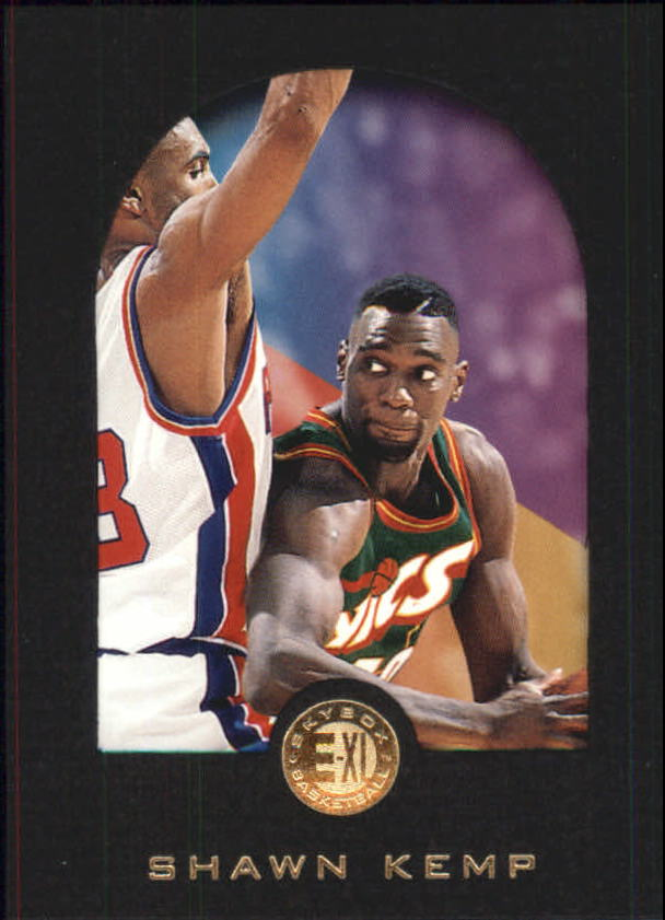 1995-96 E-XL #76 Shawn Kemp