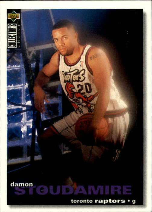1995-96 Collector's Choice #276 Damon Stoudamire RC
