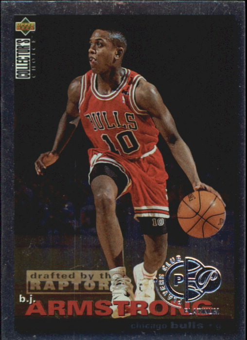 1995-96 Collector's Choice Player's Club Platinum #19 B.J. Armstrong