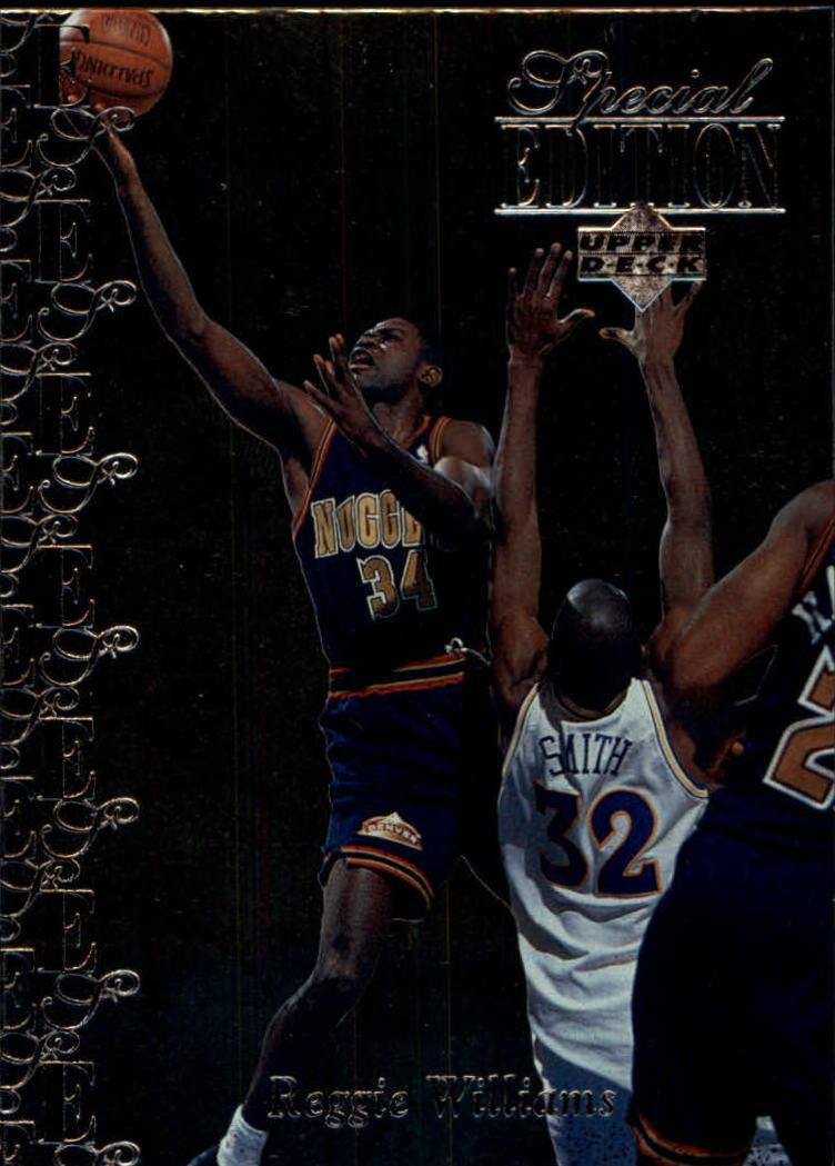 1995-96 Upper Deck Special Edition #111 Reggie Williams