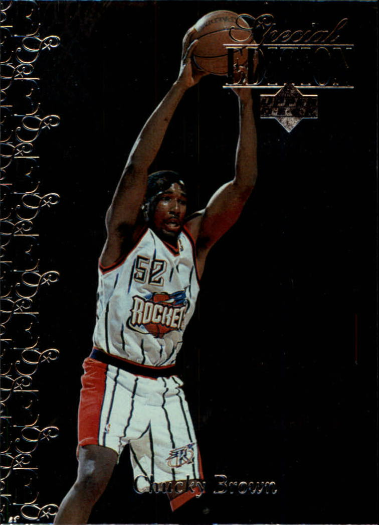 1995-96 Upper Deck Special Edition #118 Chucky Brown