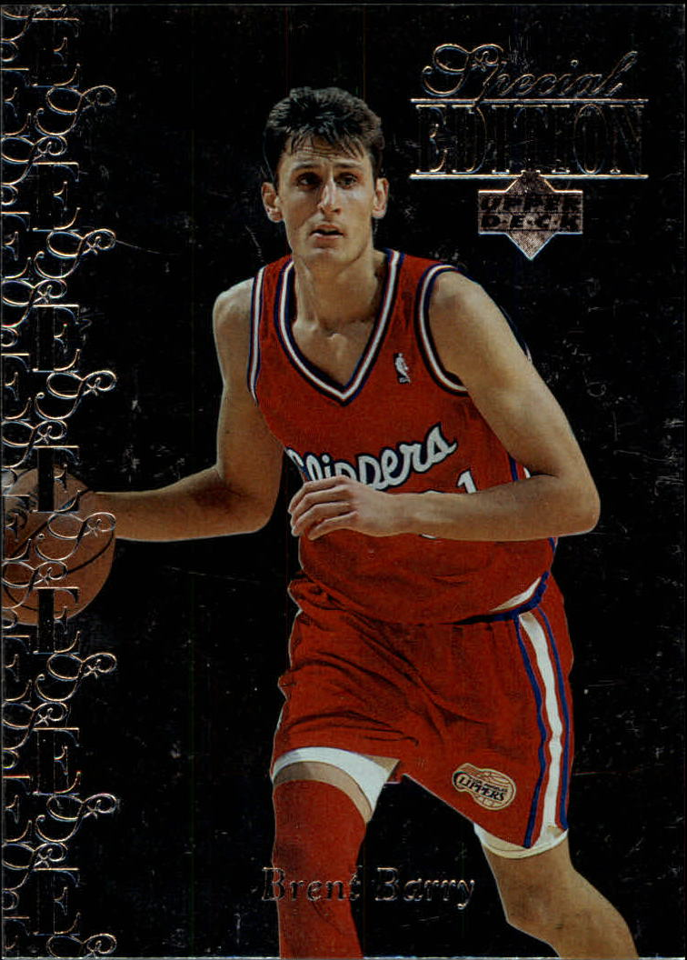 1995-96 Upper Deck Special Edition #124 Brent Barry