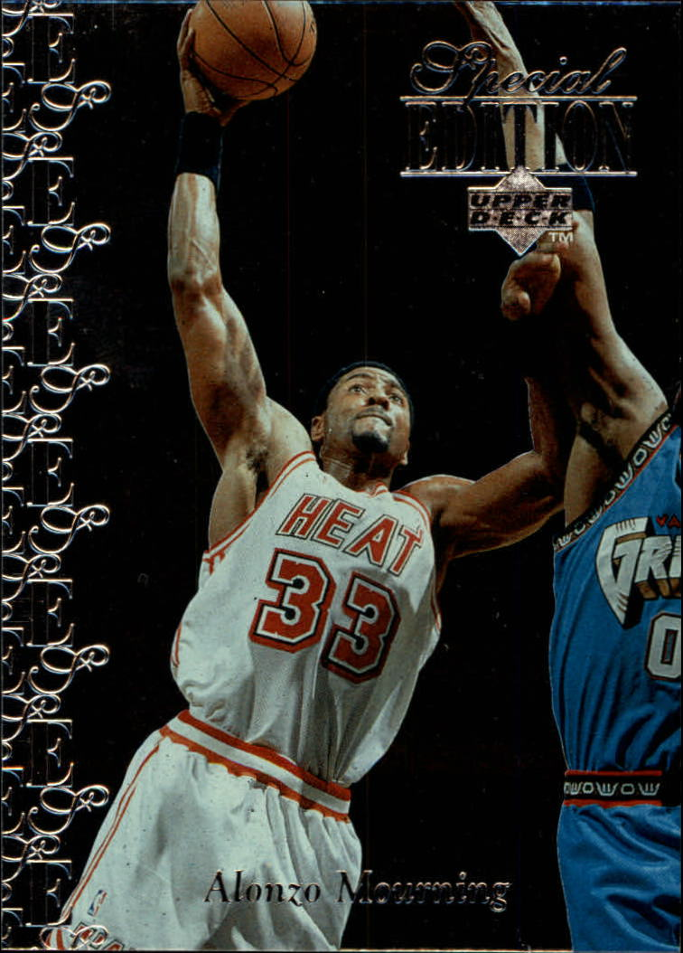 1995-96 Upper Deck Special Edition #130 Alonzo Mourning