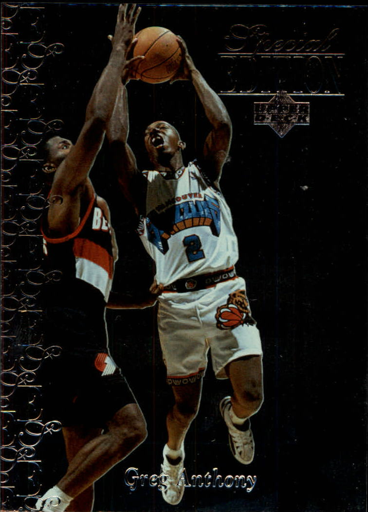 1995-96 Upper Deck Special Edition #174 Greg Anthony
