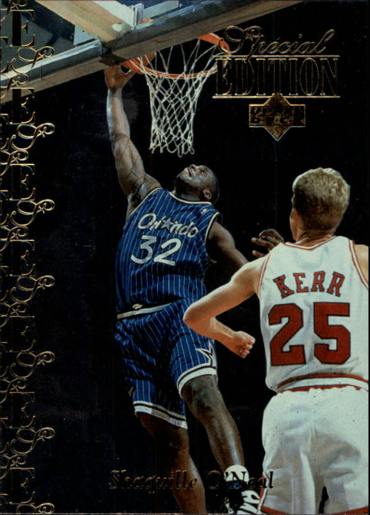 1995-96 Upper Deck Special Edition Gold #147 Shaquille O'Neal