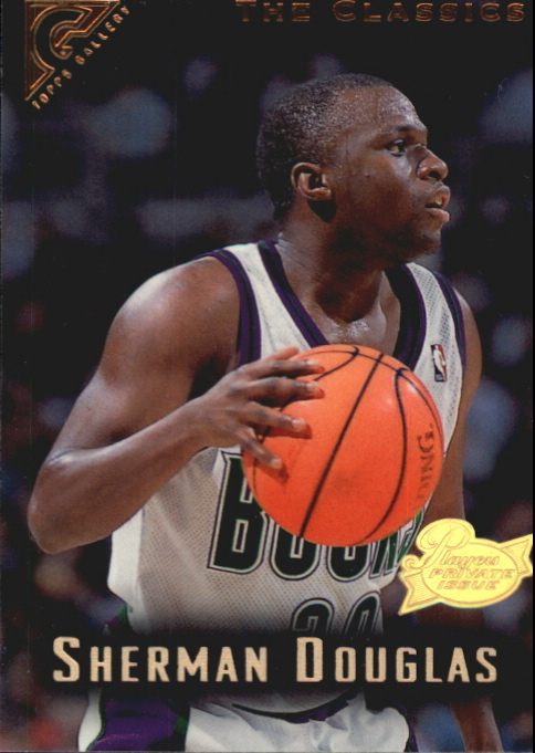 1995-96 Topps Gallery Player's Private Issue #82 Sherman Douglas