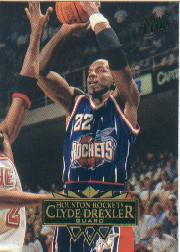 1995-96 Ultra #217 Clyde Drexler