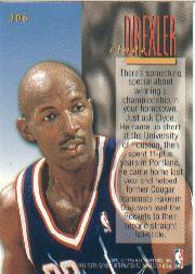 1995-96 Ultra #306 Clyde Drexler ENC back image
