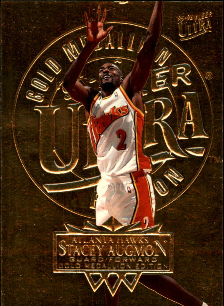 1995-96 Ultra Gold Medallion #1 Stacey Augmon
