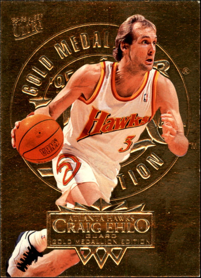 1995-96 Ultra Gold Medallion #3 Craig Ehlo