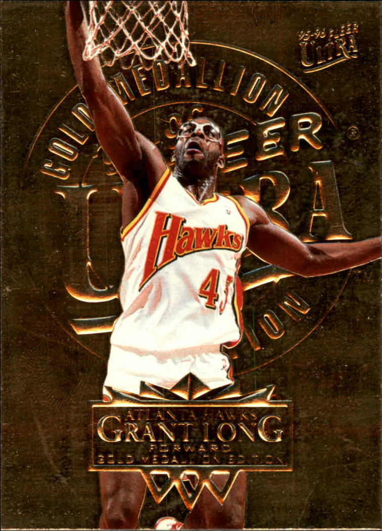 1995-96 Ultra Gold Medallion #5 Grant Long