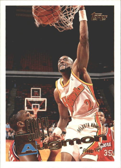 1995-96 Topps #154 Stacey Augmon