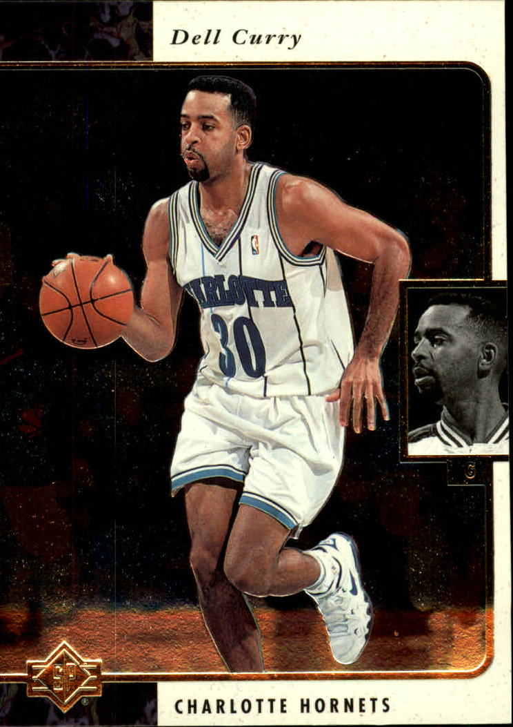 1995-96 SP #14 Dell Curry