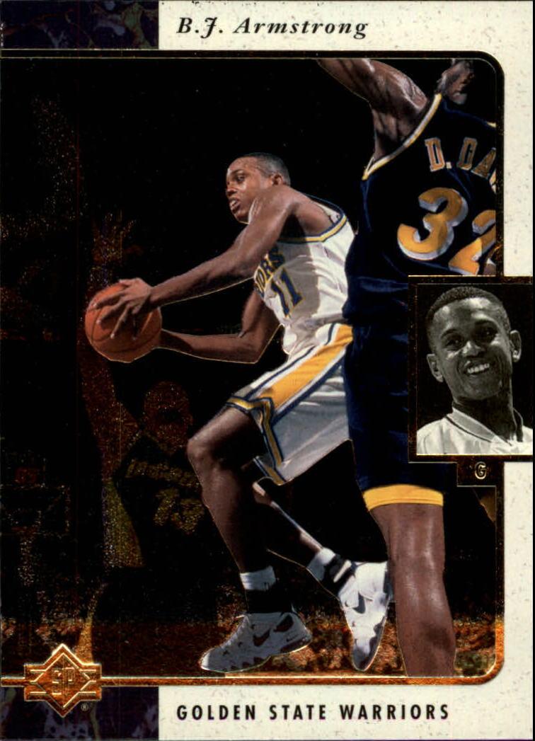 1995-96 SP #44 B.J. Armstrong