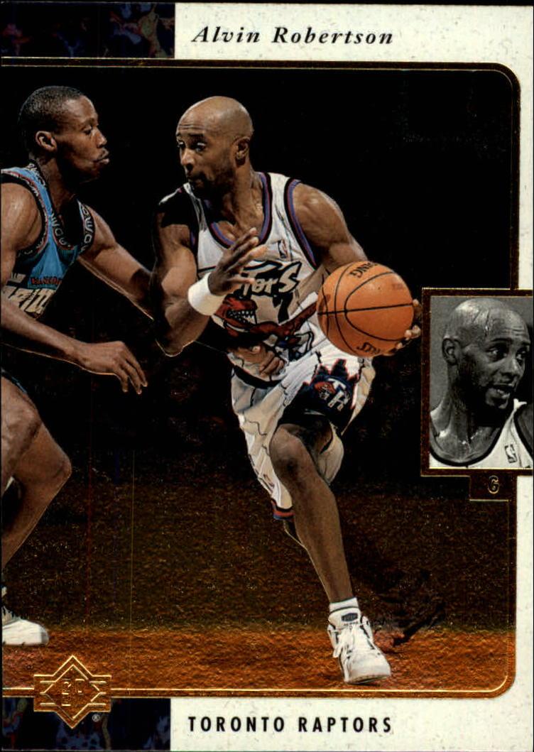 1995-96 SP #131 Alvin Robertson