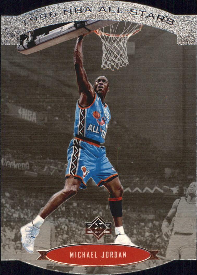 1995-96 SP All-Stars #AS2 Michael Jordan