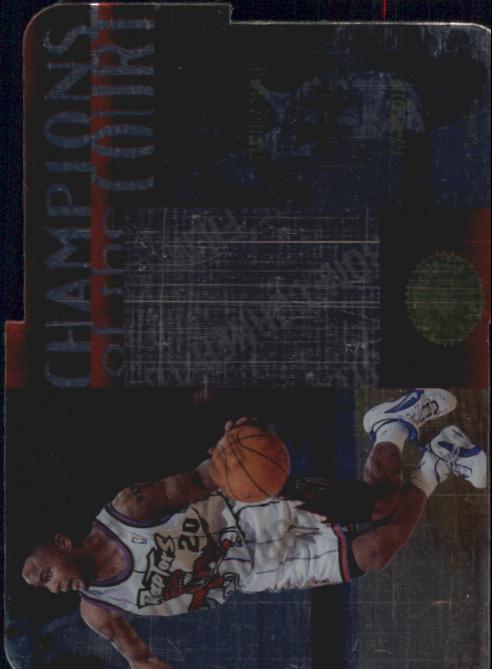 1995-96 SP Championship Champions of the Court Die Cuts #C26 Damon Stoudamire