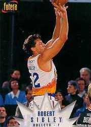 1996 Australian Futera NBL #9 Robert Sibley