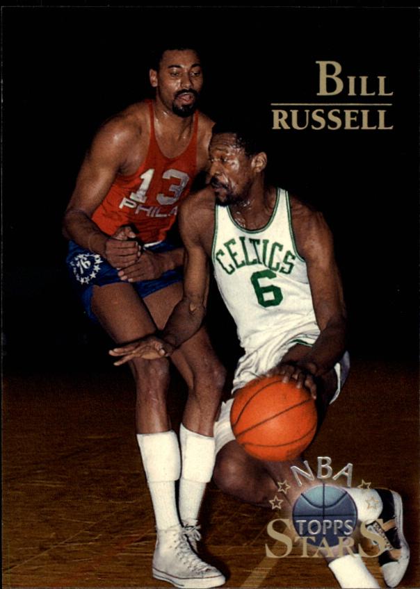 1996 Topps Stars #40 Bill Russell