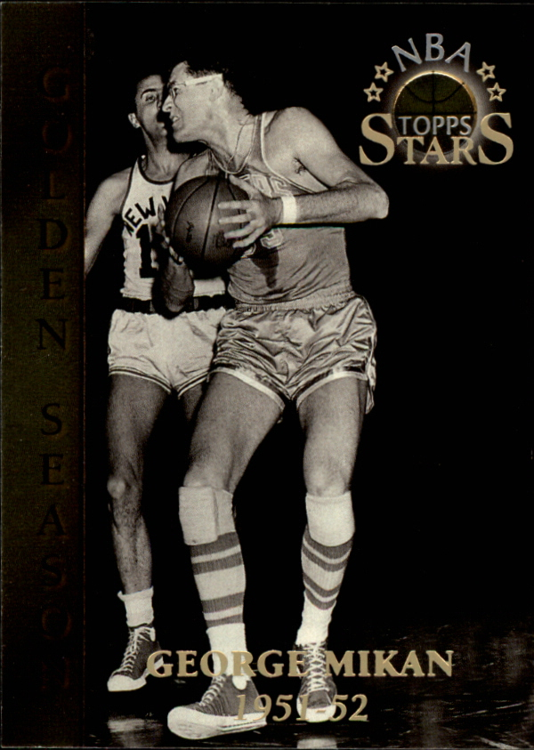 1996 Topps Stars #80 George Mikan GS