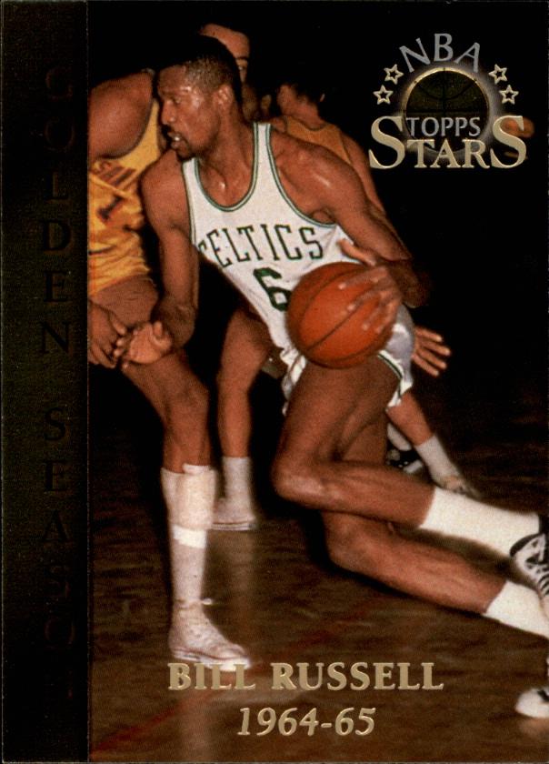 1996 Topps Stars #90 Bill Russell GS