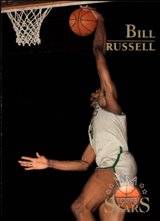 1996 Topps Stars #140 Bill Russell