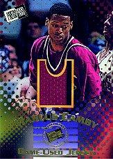 1996 Press Pass Jersey Cards #J2 Marcus Camby