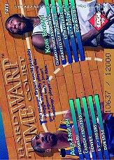 1996 Collector's Edge Time Warp #3 Kobe Bryant/Alex English back image