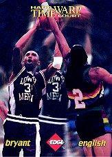 1996 Collector's Edge Time Warp #3 Kobe Bryant/Alex English