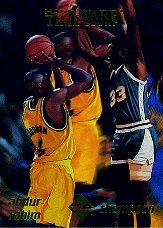 1996 Collector's Edge Time Warp Gold #1 Shareef Abdur-Rahim/David Thompson