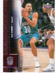 1996-97 Upper Deck #12 Dell Curry