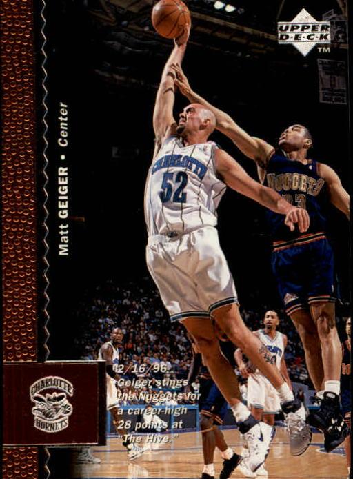 1996-97 Upper Deck #13 Matt Geiger