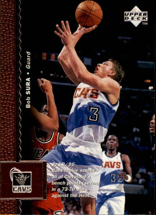 1996-97 Upper Deck #23 Bob Sura
