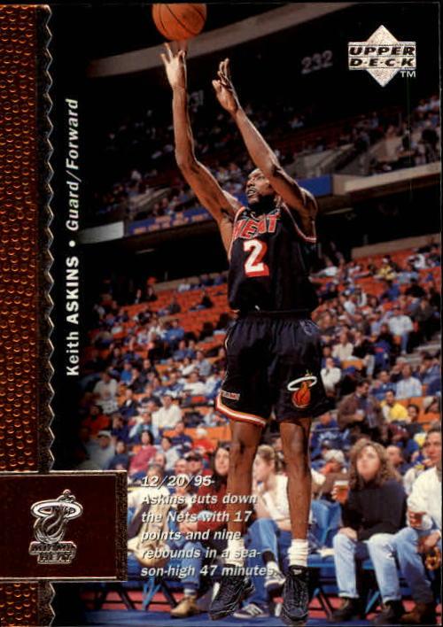 1996-97 Upper Deck #63 Keith Askins